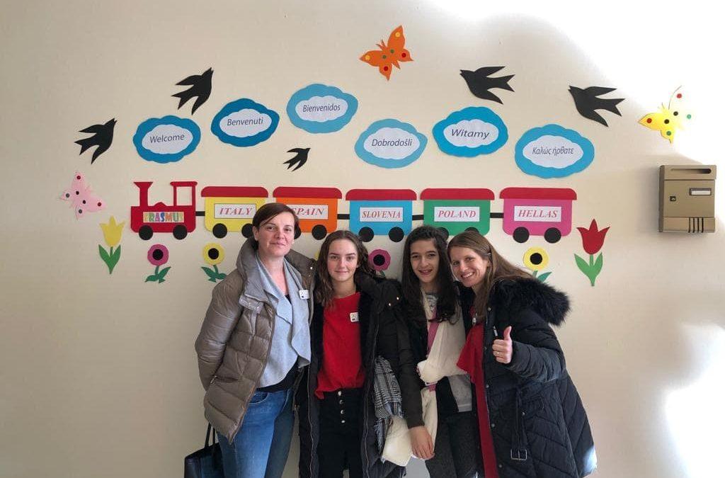 Prva mobilnost z učenci, Grčija, Peristeri, februar 2019